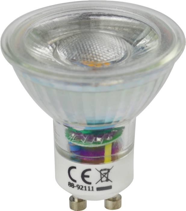 LED-spotpære 4-pk GU10 5W LED SMD