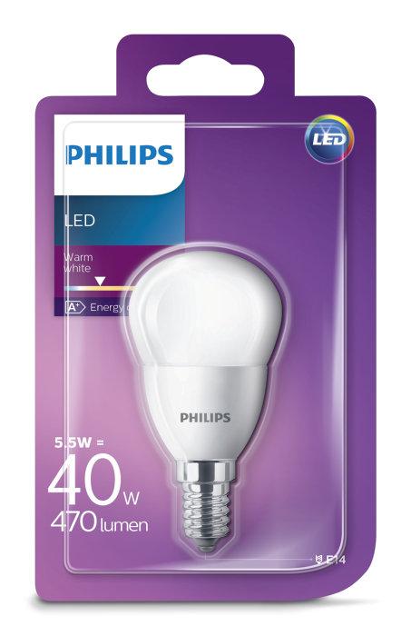 Klotlampa LED 5,5 W