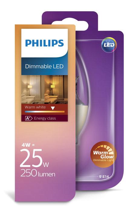 Kronlampa Warm Glow 4 W