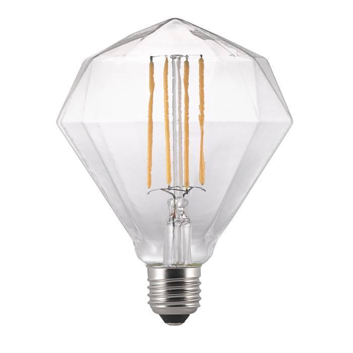 Nordlux Avra diamant LED filamentpære