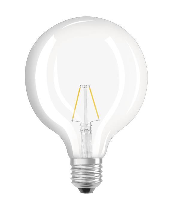 Osram LED Star Classic globepære E27 2,5W