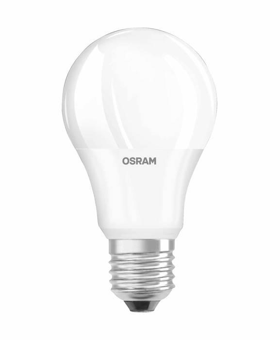 Osram LED standardpære E27 8,5W 3-pk.