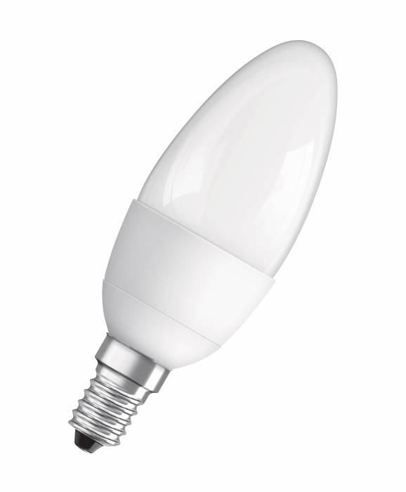 Osram LED kertepære E14 5,5W 3-pk.