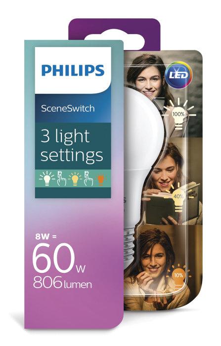 Normallampa 60 W SceneSwitch