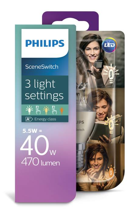 Kronlampa LED SceneSwitch 4,5W