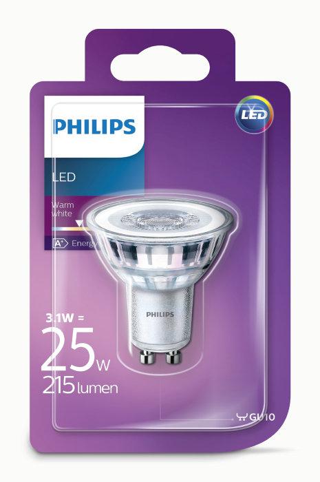 Reflektorlampa 3,1 W (25 W) GU10 LED