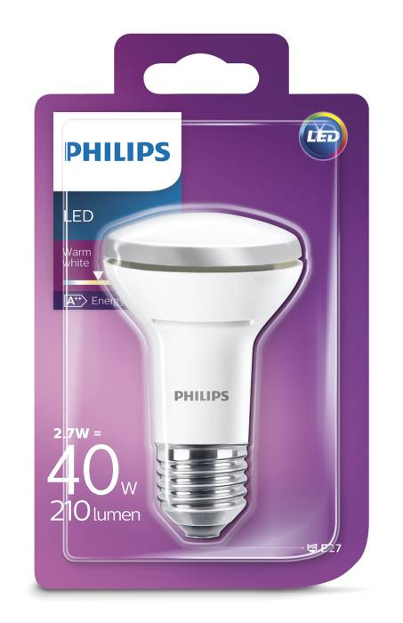 Reflektorlampa LED 2,7 W