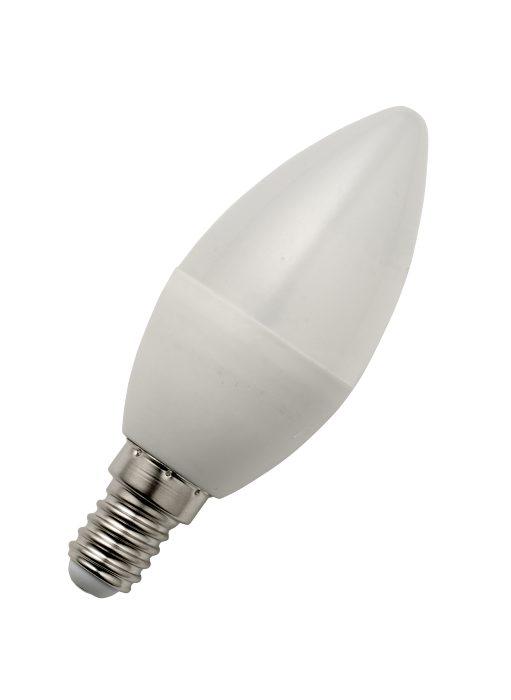 LED-sparepære kerte E14 6W dæmpbar - 2 pk.