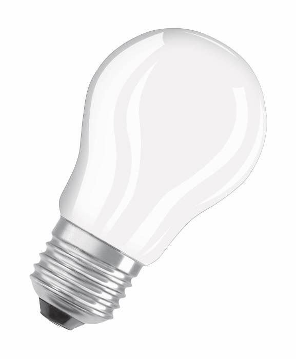 Osram LED Retrofit mat kronepære E27 4W