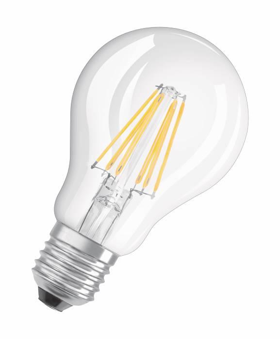 Osram LED Base standardpære E27 7W 2-pk