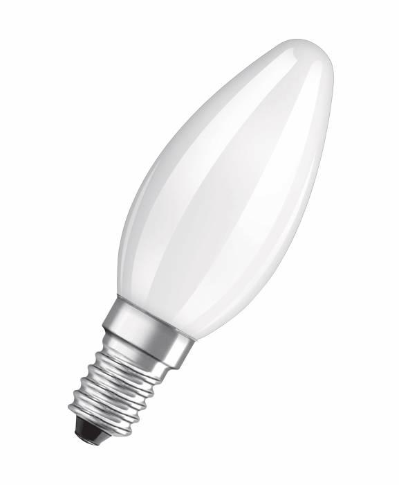 Osram LED Base kertepære E14 4W 3-pak