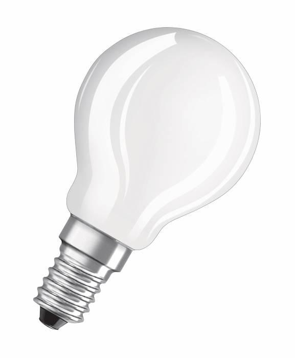 Osram LED Base kronepære E14 4W 3-pak