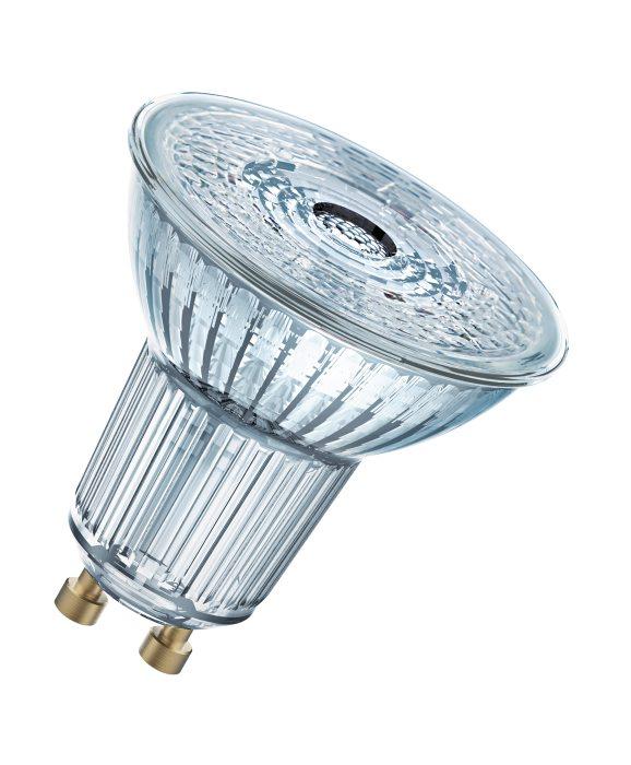 Osram LED Base PAR16 spotpære GU10 4,3W 3-pak