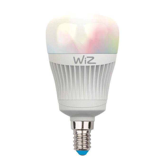 Storslået WiZ LED-pære med E14 fatning - farvet - 7W | jem & fix XR96