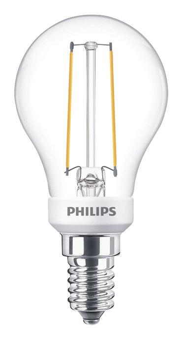 Klotlampa LED 2,7 W E14 från Philips