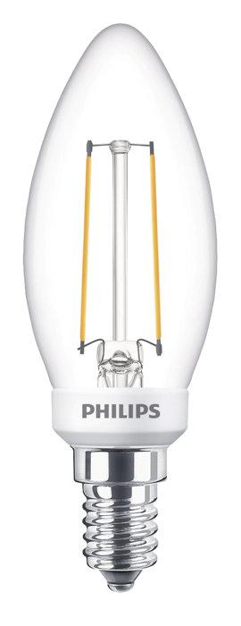 Kronlampa LED 2,7 W E14 Filament