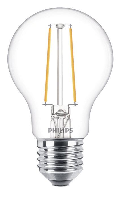 Normallampa 5,5 W E27 Filament