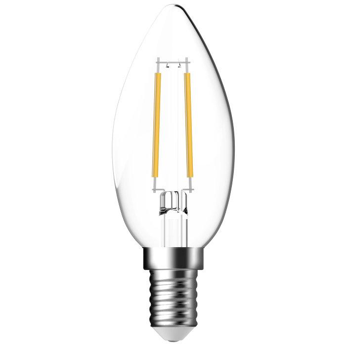 LED-sparepære kerte E14 4W 2-pk - Energetic