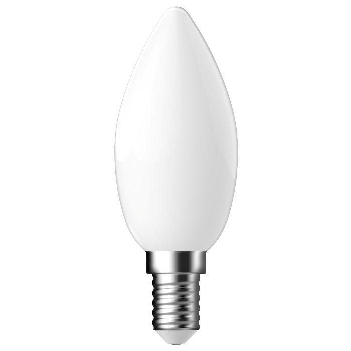 LED-sparepære kerte E14 4,6W 2-pk - Energetic
