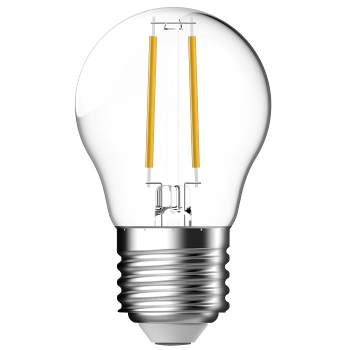 LED-sparepære standard E27 4W 2-pk - Energetic