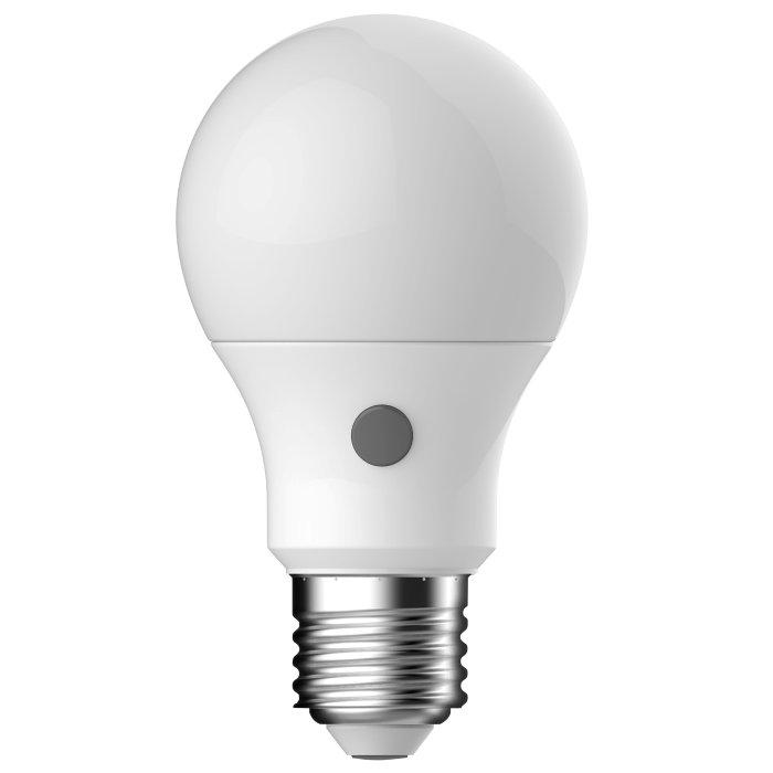 LED-sensorpære standard E27 8W 2-pk - Energetic