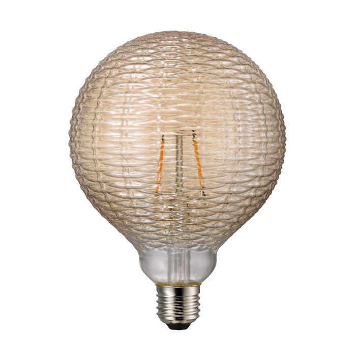 Nordlux Avra LED-filamentpære Dent Amber 1,5W
