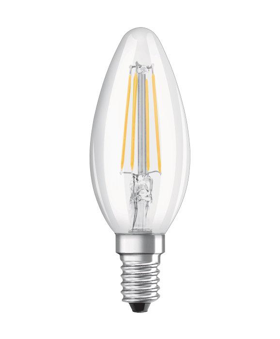 Osram LED kertepære E14 4W 2-pk.