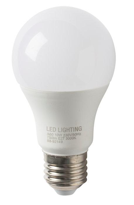 Normallampa LED E27 10W