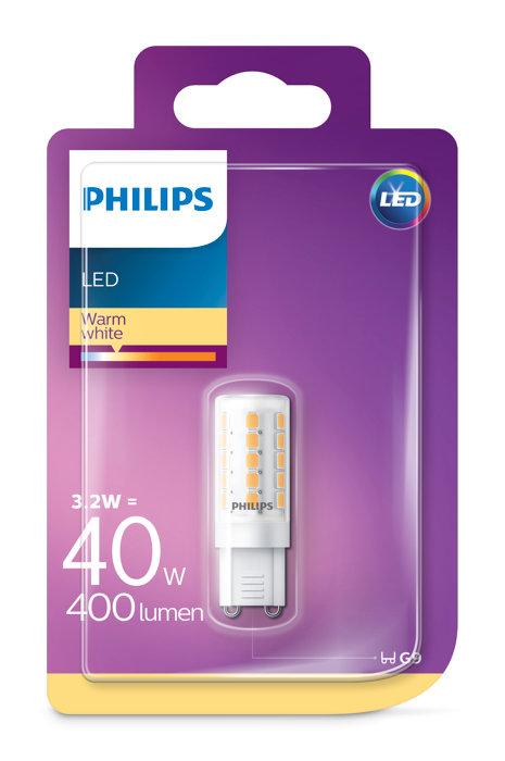Stiftlampa LED 3,2W / 40W