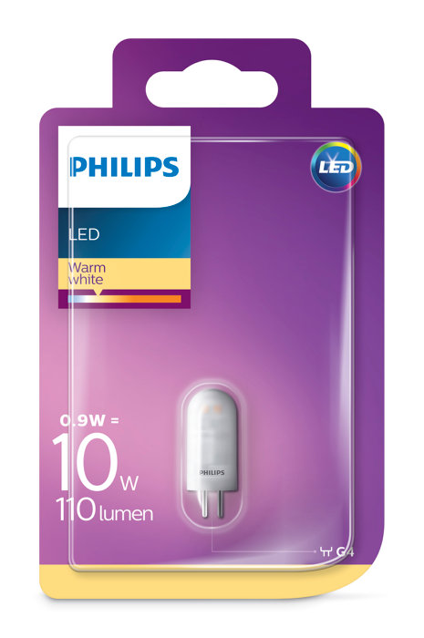 Stiftlampa LED 0,9W / 10W