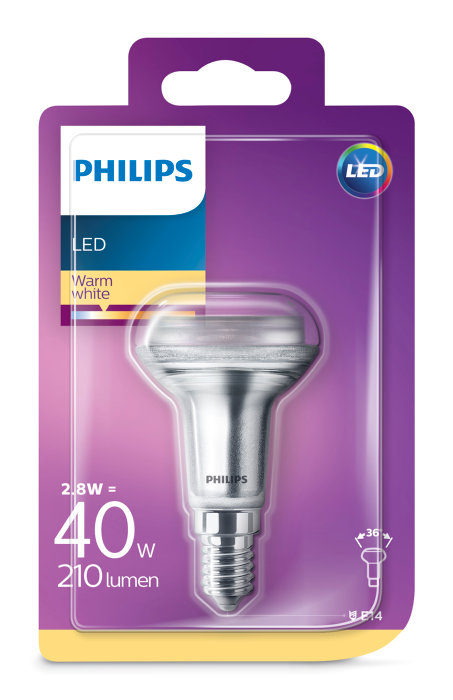 Reflektorlampa LED  2,8W / 40W