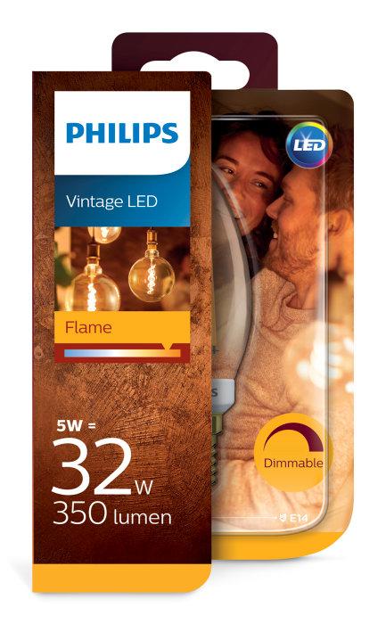 Kronlampa LED Filament 5W / 32W