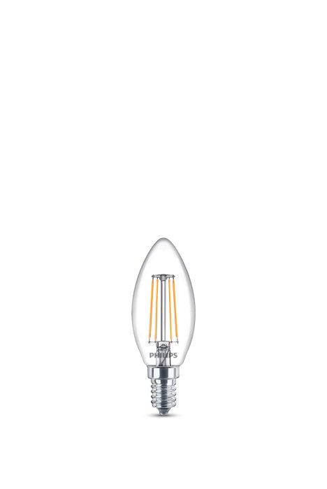 Kronlampa LED 4,3W / 40W klar