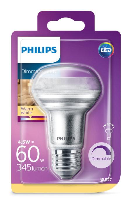 Reflektorlampa LED 4,5 / 60W E27