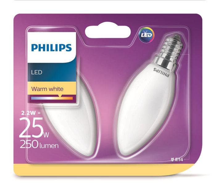 Kronlampa LED 2,2W / 25W