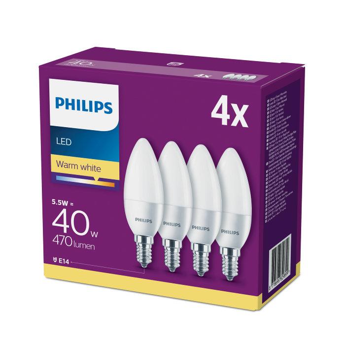 Kronlampa LED 6 / 40W E14
