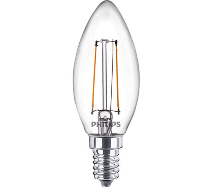 Kronlampa Filament W25 E14