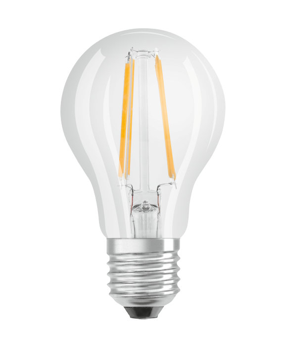 Osram LED Star Classic klar kronepære E27 4W