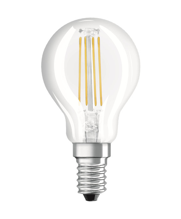 Osram LED Star Classic klar kronepære E14 4W
