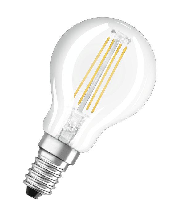 Klotlampa LED Filament 4W