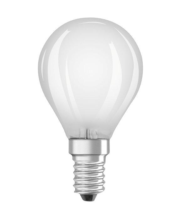 Osram LED Star Classic mat kronepære E14 4W