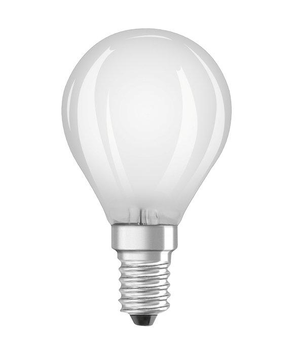Osram LED Star Classic mat kronepære dæmpbar E14 5W