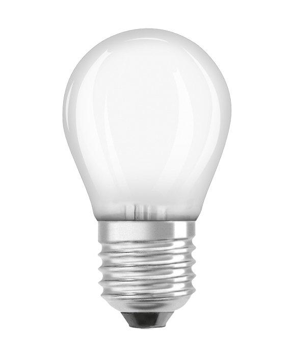 Osram LED Star Classic mat kronepære dæmpbar E27 5W