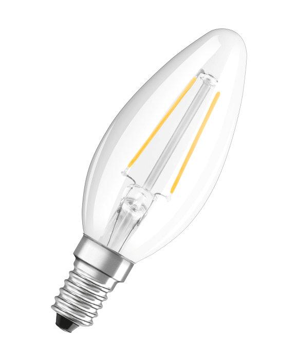 Kronlampa LED Filament 2,5W