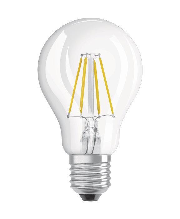 Osram LED Superstar Classic klar standardpære dæmpbar E27 5W