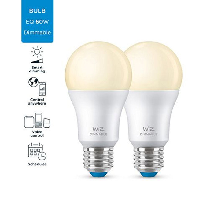 Ljuskälla WiZ LED 8W 2-pack