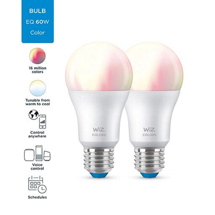 Ljuskälla WiZ LED Färg 2-pack
