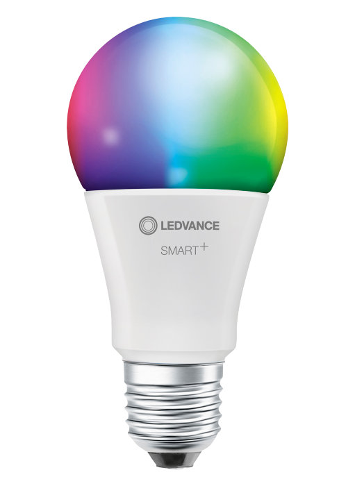 Ledvance SMART+ standard pære farve E27 9W