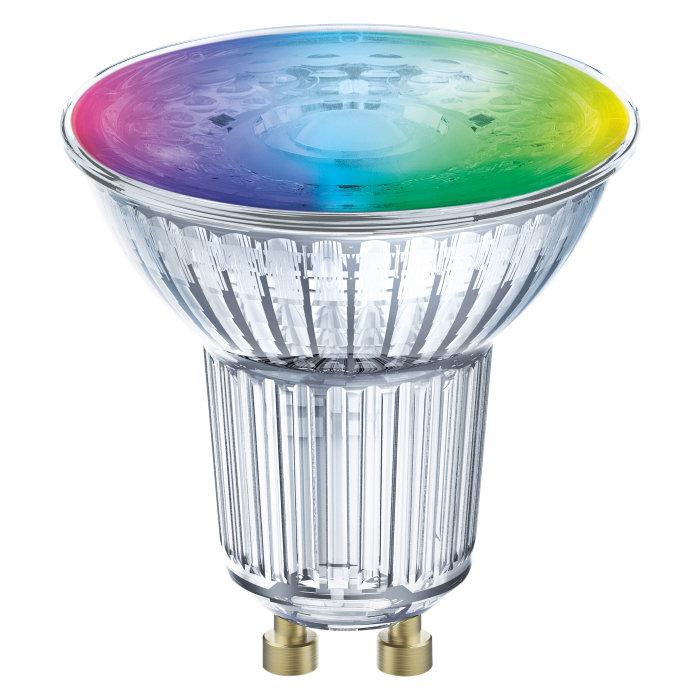 Ledvance SMART+ LED reflektorpære PAR16 farget GU10 5W