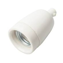 Porcelænsfatning E27 HVID | Billigst i jem & fix